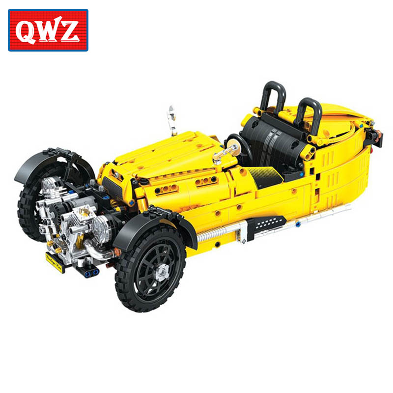 Technic City Classical Tricycle Model Building Blocks Sets Bricks Kids Classic Toys For Children Compatible with Legoings Car