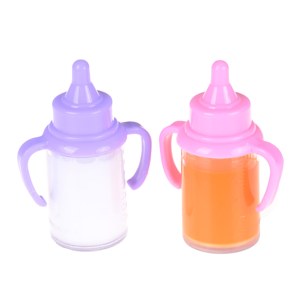1PCS Baby Dolls Feeding Bottle Magic Dummy Pacifiers Set Disappearing Milk Bundle Kids Play Toy Accessory Reborn Preemie Kit