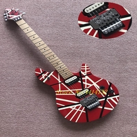 Free Shipping Cheap New Top Quality Musical instruments EVH Wolfgang Electric Guitar Red evh guitar with tremolo