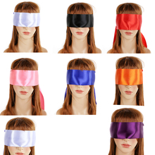 Multi Colors Satin Ribbon Blindfold For Sexy Women