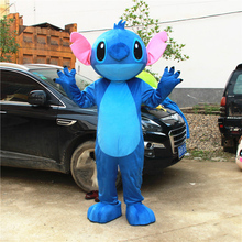 Lilo & Stitch  Mascot Costume  Cosplay Costume for Adults  Halloween Party Event Fancy Dress Outfit Free Shipping care bear panda mascot costume birthday party fancy dress adults size halloween factory custom