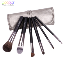 Docolor makeup brushes 6pcs Goat Hair Professional makeup brush set Eye Shadows Eyeliner Nose Smudge make
