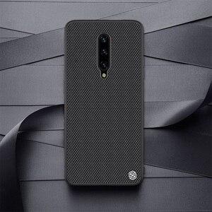 Image 5 - Voor Oneplus 7 Pro Case Oneplus 7 6T Cover Nillkin Geweven Nylon Fiber Case Dunne En Licht Terug Cover voor Een Plus 7 Pro Case