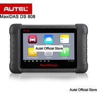 Autel MAXIDAS DS808 Otomotiv Tarayıcı OBDII OBD2 tanı aracı ECU bilgi ile daha iyi DS708