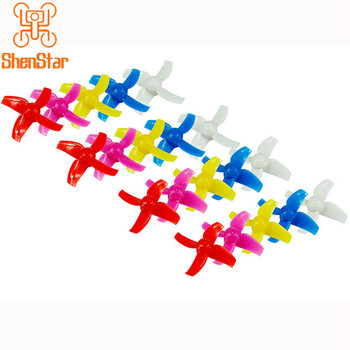 40mm/48mm 4- Propeller Props CW CCW 10Pairs for Tiny R7 7X INDUCTRIX FPV+ 8X DIY FPV Brush Mini Drone image