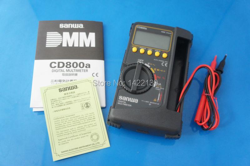 DIGITAL Multimeter CD800a DMM 600V 400mA 4000 count Volt counter tester meter NEW мультитестер цифровой defort dmm 800