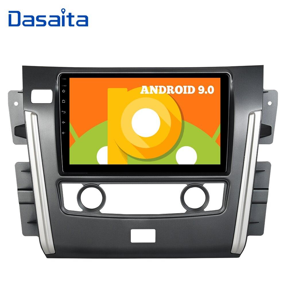Autoradio Dasaita 1 din Android 9.0 stéréo pour NISSAN patrouille 2010-2017 Autoradio GPS Bluetooth 10.2