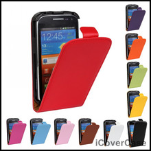 Ace 4 3 2 Leather Flip Cases For Samsung Galaxy Ace 2 i8160 Ace 3 S7272 Ace 4 G313 S5830 Cases Cover Fundas Mobile Phone Bag(China)