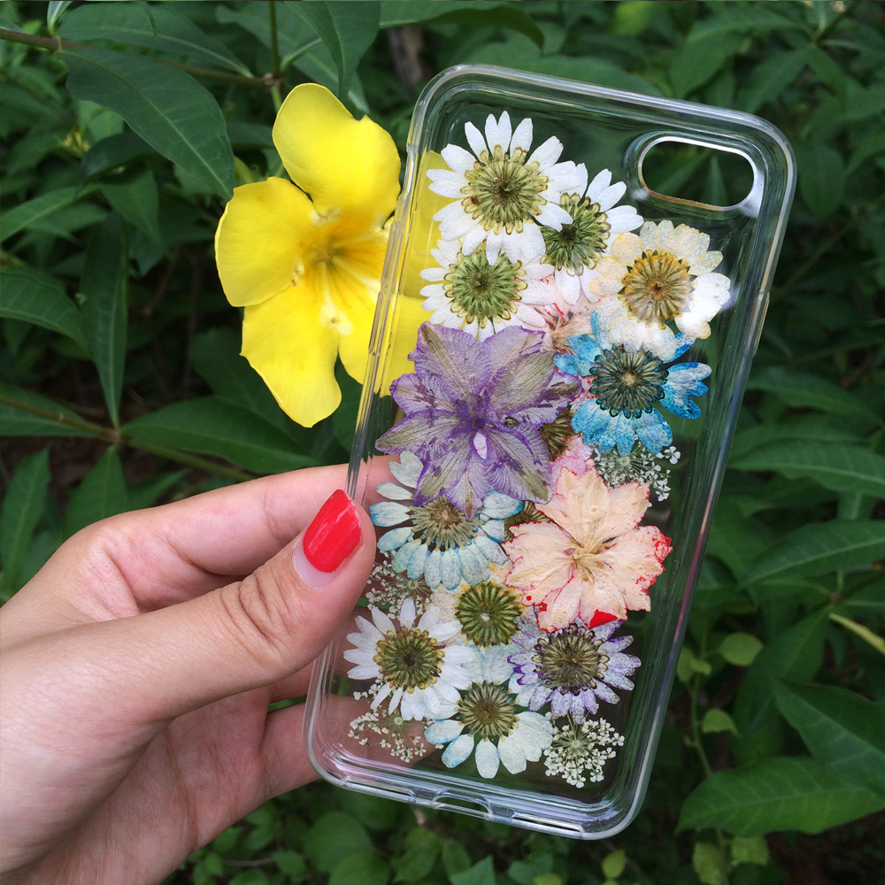 6S Ultra thin Silicon Real Floral Cases for iPhone 7 7 Plus 6 6S Plus - Mobile Phone Accessories and Parts - Photo 4