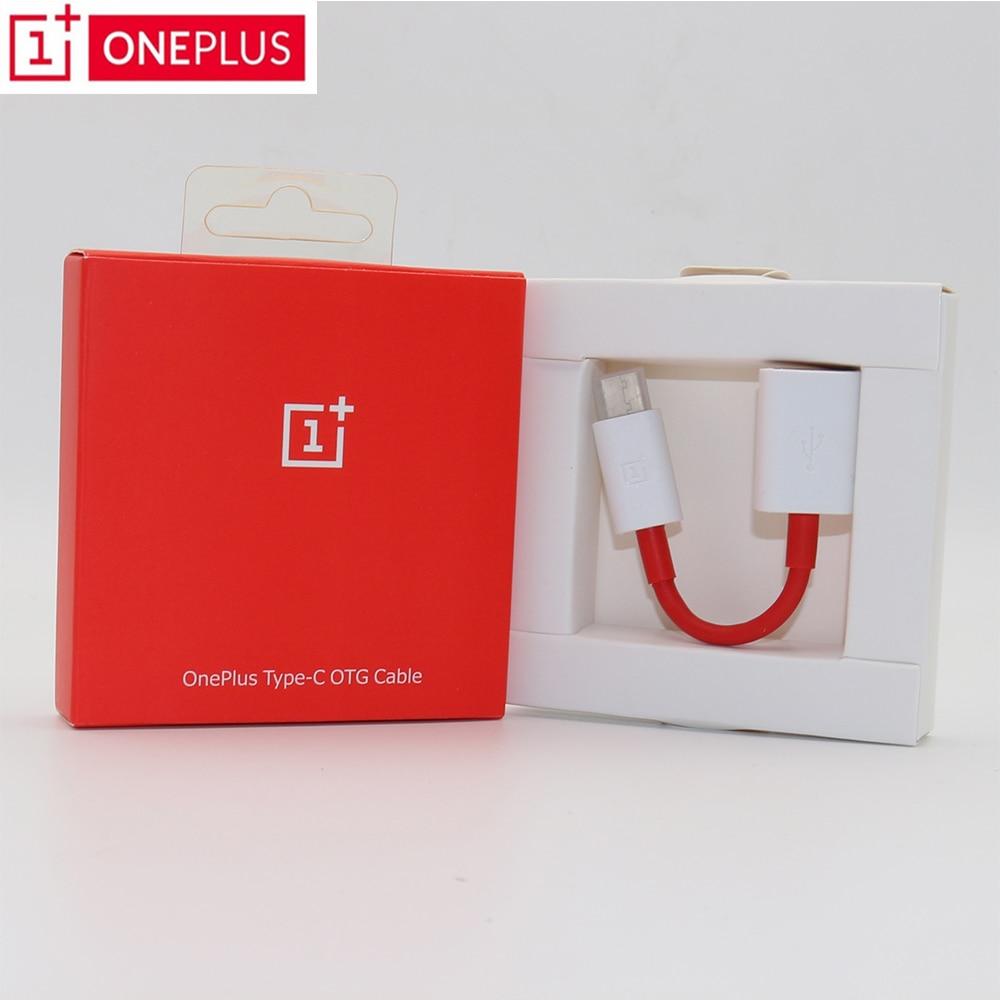 Câble d'origine OnePlus OTG pour un Plus 3/3 T/5/5 T/6 convertisseur chargeur de données adaptateur support lecteur de stylo/U disque/souris/poignée de jeu