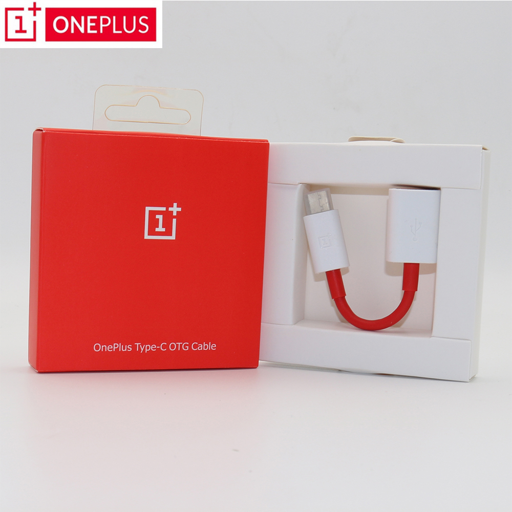 Original OnePlus OTG Cable For One Plus 3/3T/5/5T/6 Converter Data Charger adapter support Pen Drive/U DISk/Mouse/Game handle