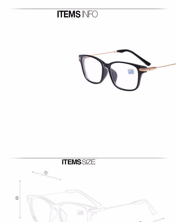 7fc47da502 Peekaboo New brand high quality cheap prescription eyeglasses men student -2  -1.5 discount myopia glasses wo. men minus black