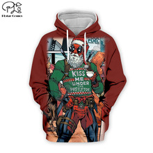 PLstar Cosmos Deadpool/kiss 3D Printed Hoodie/Sweatshirt/Jacket/shirts Mens Womens hip hop Christmas apparel drop shipping