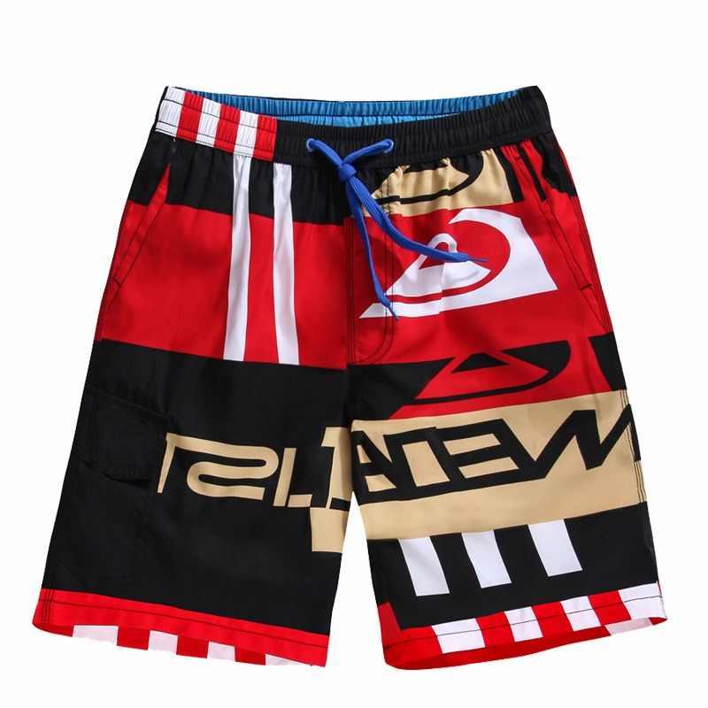 38fb4b151d9bb IEMUH Big Size Mens Shorts Surf Board Shorts Summer Sport Beach Homme  Bermuda Short Pants Quick