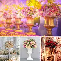 4Pcs/Lot Flower Vase Floor Plastic Vase Plant Dried Floral Holder Flower Pot Road Lead for Home/Wedding Corridor Decoration G102