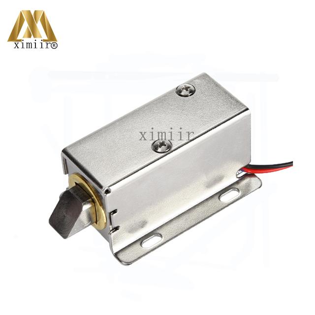 MINI 12V Electric Cabinet Lock Electronic NO Type Fail Secuirty Cabinet Lock Small Electric Lock Free Shipping Door Control Lock