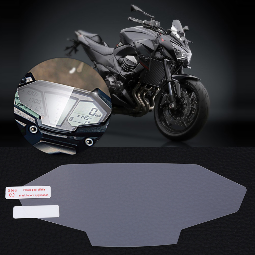 Motorcycle Cluster Scratch Protection Film Screen Protector for Kawasaki  Z800 ZR800 ABS 2018 Cluster Screen Protector-in Covers & Ornamental  Mouldings from ...
