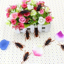 4pcs/bag Fake Bug Joke Toy Fool Funny Prank Supplies Toys Gadget Halloween Party Trick Mischief Novelty & Gag Toys Item Product