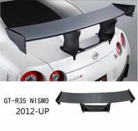 SPOILERS de labio de ala trasera de fibra de carbono de Nisimo GT-R CRA para NISSAN GT-R GTR R35 2012 2013 2014 2015 2016 2017 2018 2019