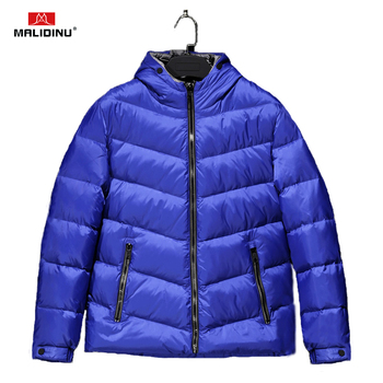 MALIDINU 2020 Men Down Jacket Winter Jacket Down Coat Brand European Size Hooded Jacket Light Down Men Jackets Free Shipping