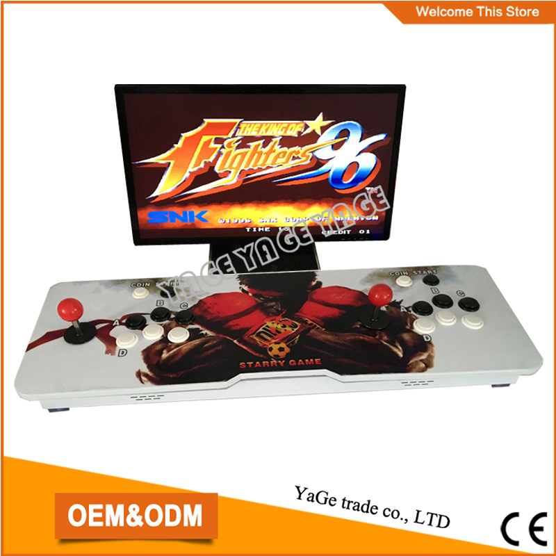 pandora box 4s Joystick Arcade Rocker 680 in 1 Family Fighting game console HDMI/ VGA HD Output for 2 palyers