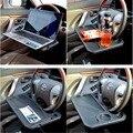 2em1 Universal Do Carro suporte de Copo Titular Volante Do Carro Estande Notebook Mesa Laptop Tray Table Food Titular bebida Acessórios Do Carro