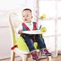 Três cores Novo Design Multifuncional bebê cadeira de jantar criança Portátil dobrável cadeira de assento