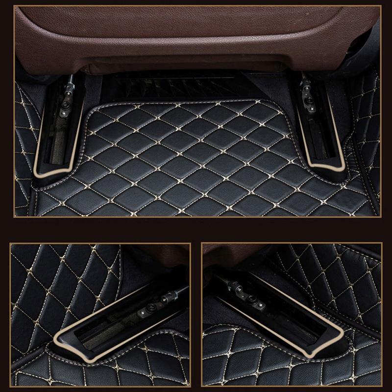 カスタムロゴの車のフロアマットテスラモデル 3 テスラモデル s モデル x 自動車の付属品車のマット  グループ上の 自動車 &バイク からの フロアマット の中 3