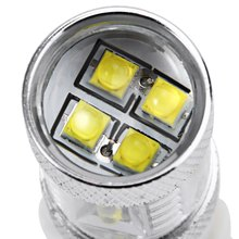 Car LED Fog Brake Turn Signal Driving Lightings Fog Light Led Fog Lamp Bulb High Quality 1Pcs 3156 80W with Super White Light