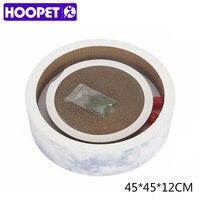 HOOPET Pet Supplies Cat Toy Scratcher Scratching Kitten Mat Sofa Board Bowl Shape Round