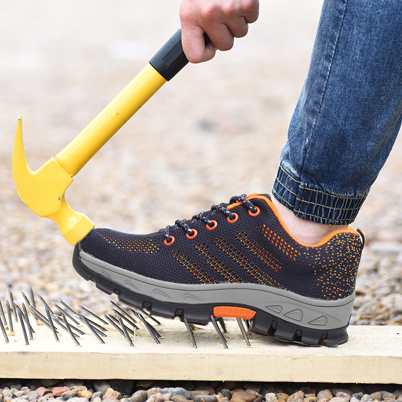 Ac13022 Sicherheit Schuhe Kappe Stahl Schuh Spitze Edelstahl Schuhe Sicherheit Stiefel Turnschuhe Arbeit Außerhalb Leichte Atmungsaktive Stiefel Sicherheit & Schutz
