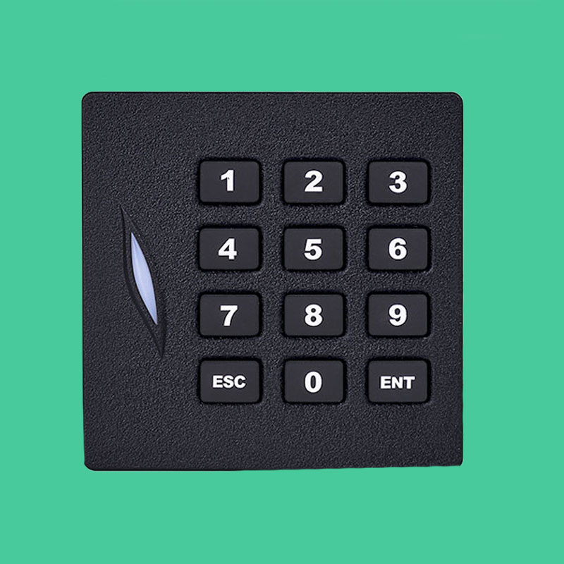 Wiegand 26/34 Proximity Card Reader for Access Control System 125khz Rfid Card Reader 13.56mhz IC Access KR102 Slave Reader wholesale 13 56mhz iso14443a rfid reader wiegand 26 bits wiegand 34 bits for card access control system