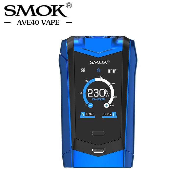 Pré-vente Électronique Cigarettes Mods Smok ESPÈCES Mod 230 w Double 18650 Batterie TC Boîte Mod 510 fil Vaporisateur VS Vaporesso Mod - 5