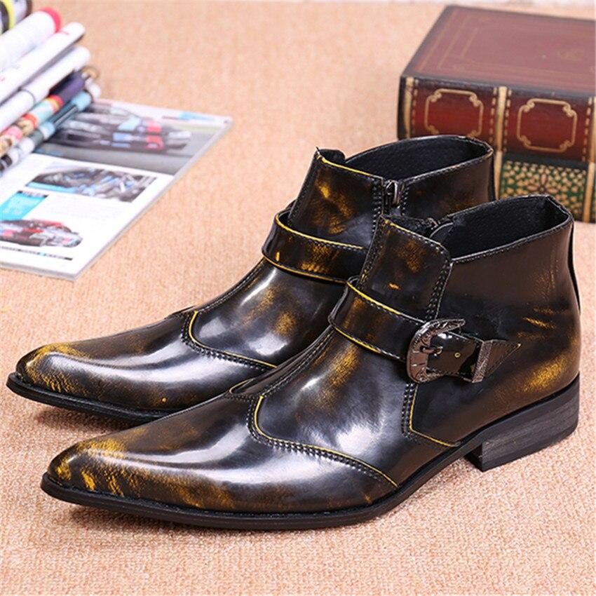 Popular Zipper Cowboy Boots for Men-Buy Cheap Zipper Cowboy Boots