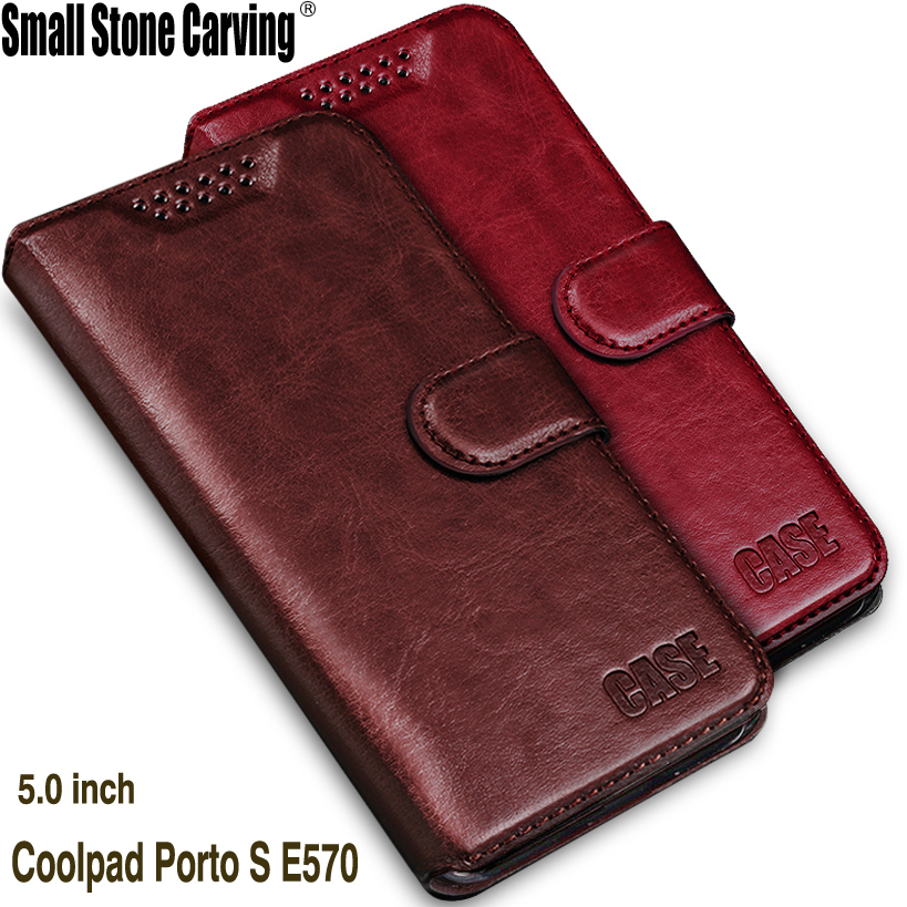 Роскошные модные мягкие силиконовые бумажник Флип Кожа PU телефон чехол для <font><b>CoolPad</b></font> порту S <font><b>E570</b></font> с подставкой Fundas Coque