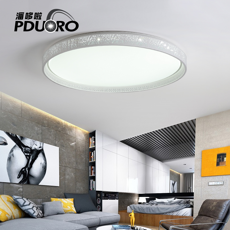 New Acrylic Modern ceiling lights for living room bedroom White Simple Plafon led ceiling lamp home lighting fixtures AC85-260V