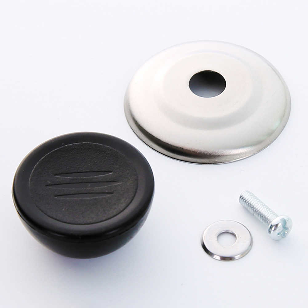 1 шт. универсальные кухонные запасные части для посуды ручка для крышек от кухонной посуды крышка крышки сковороды круговая ручка с винтовой ручкой Бесплатная доставка