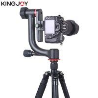 KINGJOY официальный KH 6900/6900C штатив шаровой головкой Профессиональный карданный подвес Штативная головка для DSLR камеры и 360 градусов панорамна