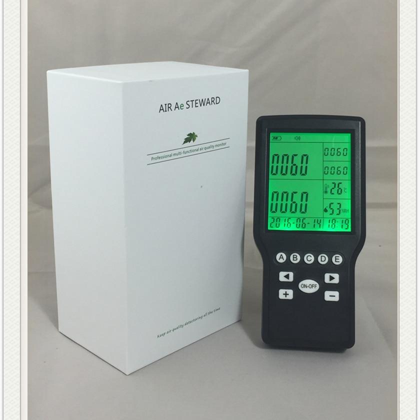 handheld digital formaldehyde monitor HCHO gas monitor home use