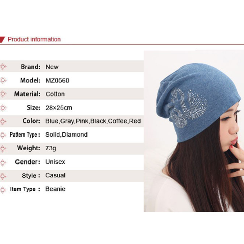 a0657c54 New Arrival Winter Hats for Women Supreme Ladies Beanies Swan Touca  Diamonds Red Skullies Hip hop Female Gorras-in Skullies & Beanies from  Apparel ...