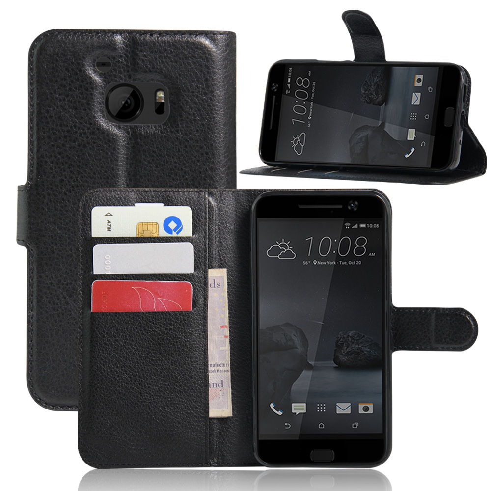 PU Leather Wallet Case For HTC One mini M4 M7 M8 mini M9 Plus ME M10 One X S720e Max T6 E8 E9 Plus A9 A9S X9 Butterfly 2 U Ultra