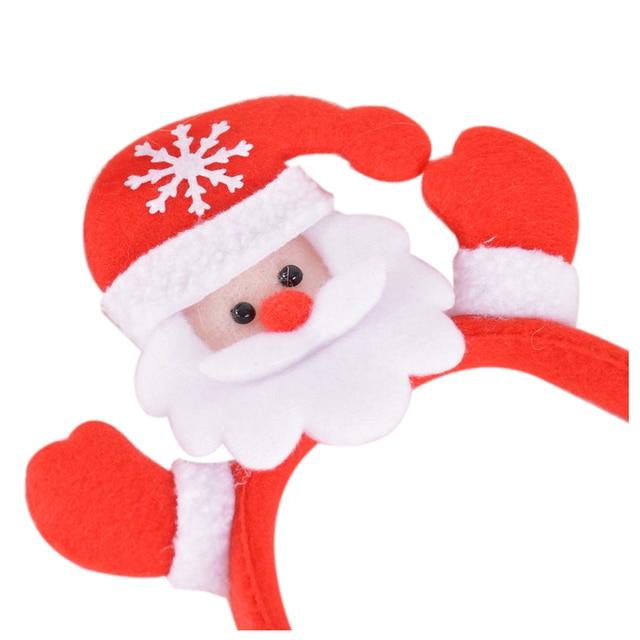 uesh 1x christmas santa headband party decor for children kids 33cm red - Santa Pictures For Kids