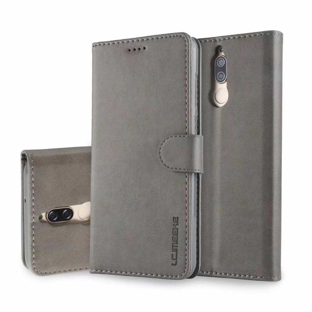 For Coque Huawei Mate 10 Lite Case Leather Flip Wallet Silicone Case For Huawei Mate 10 Lite Nova 2I Maimang 6 Case Cover