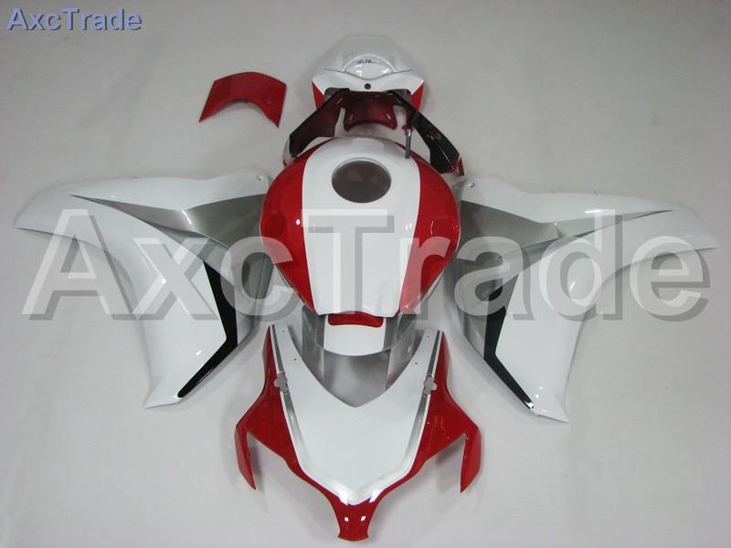Мотоцикл Обтекатели для Honda CBR1000 CBR1000RR ЦБ РФ 1000 рублей 2008 2009 2010 2011 ABS пластик впрыска Обтекателя кузова комплект Белый