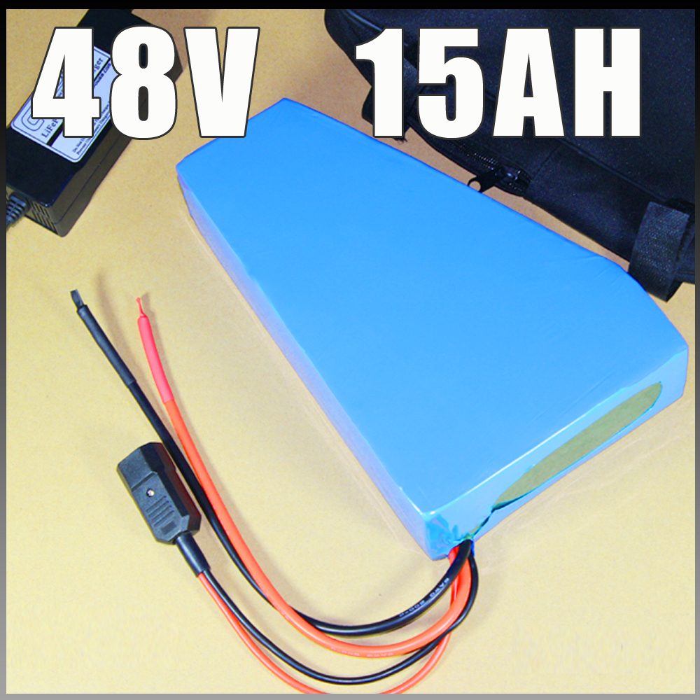 Free customs duty 48v 750w triangle e-bike battery 48v 15ah lithium ion battery pack 48v 8fun BBS02B BBS03 BBSHD battery free customs taxe 48v 1000w triangle e bike battery 48v 20ah lithium ion battery pack with 30a bms charger and panasonic cell
