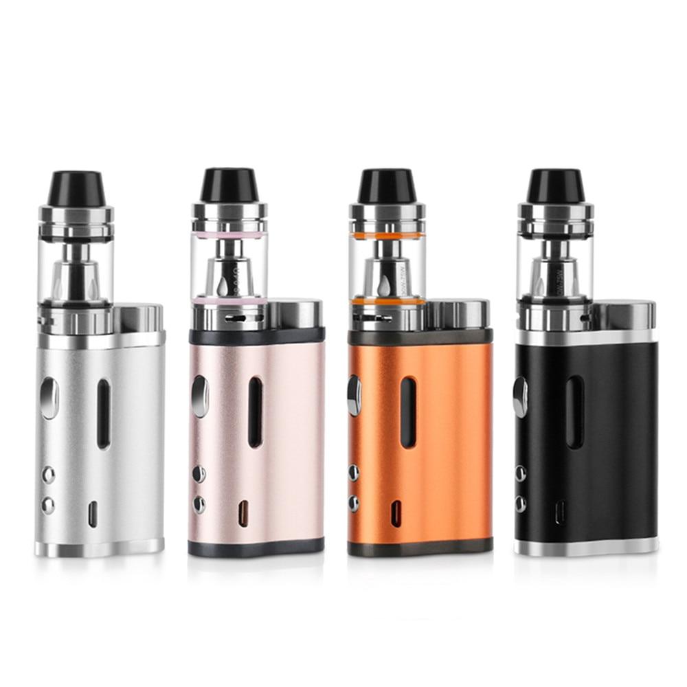 Original 76W 18650 Battery E Cigarette Kit 0.5Ohm 2ml Vaporizer electronic cigarette liquid Lite 76w Box Mod цена 2017