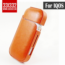 Original 331332 Factory colorful Anti Scratch Carrying Pouch Bag PU with PC Leather Case for iQOS 2.4 hot in Korea Japan цена 2017