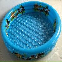 Circulaire trois-anneau bébé gonflable piscine Nourrissons et jeunes enfants piscine gonflable Enfants de divertissement Lmy906