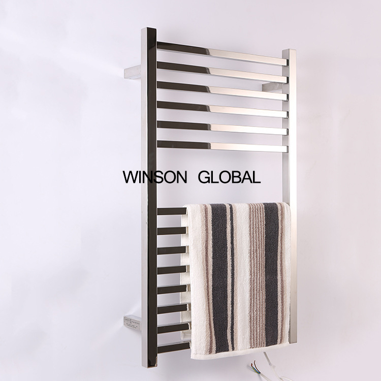 fashion electric heating towel rack furniture hotel appliance 304 stainless steel electric towel racks bath accessory ICD60050 hotel decoration 304 stainless steel electric heating towel racks house furniture fitment appliance heating towel rack icd60048