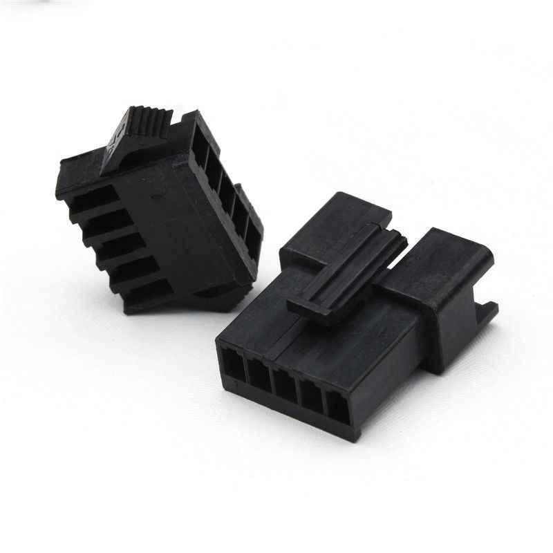 2/3/4/5Pin 2.54 Mm Konektor DuPont Kit Bagian Kabel Plug Listrik Pria/Wanita